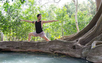 5 Day POWER YOGA | Hot Springs, Amazonian Detox Juicing & Thai Massages at Jungle Eco-Garden Lodge