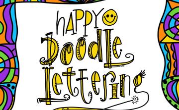 Happy Doodle Lettering I (Beginner) Nov 17th, 2:30-4pm