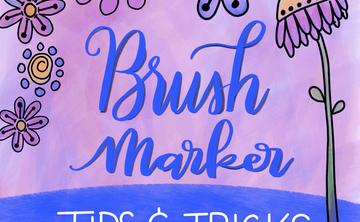 Brush Markers: Tips + Tricks (Beginner) Mar 3rd 4:15-5:45pm