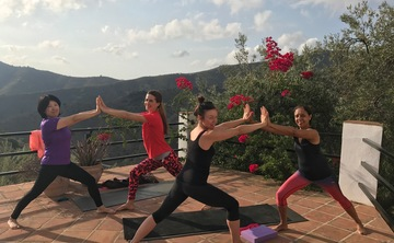 """""""The Yoga holiday to suit everyone"""" -Yoga retreat in Andalucia,Spain                                                                                    18-21 May, 2018"""