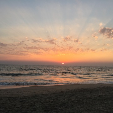 Beach Yoga Holiday in South Goa, India, March 2018