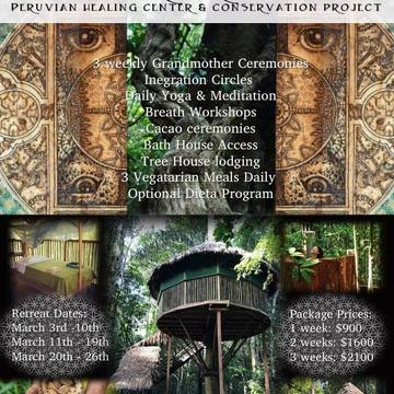 Ayahuasca Retreat 8-day