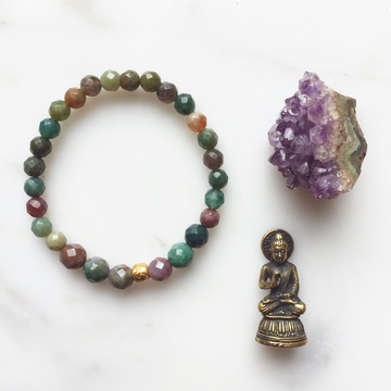 Creating Malas and Miracles Retreat with Satya