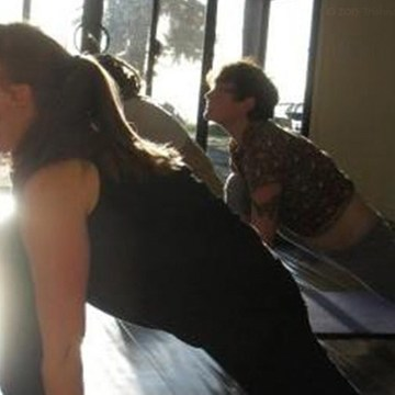 Tuesday morning yoga class 9:30-11:00 a.m. in Bolinas California