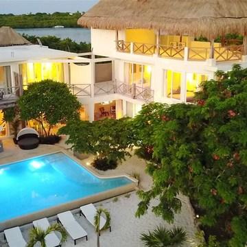 BREATHE * NOURISH * FLOW  - Luxury Yoga and Wellness Retreat -  Isla Mujeres