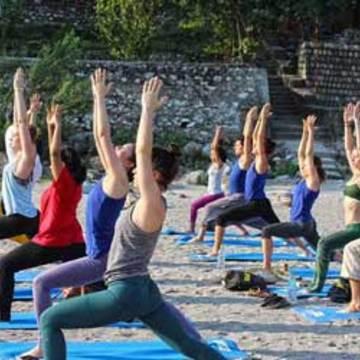 300 hour Yoga Teacher Training Course in Rishikesh, india Rishikesh Yogapeeth