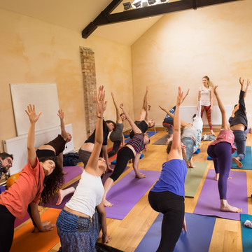 Low Cost Community Yoga Retreat