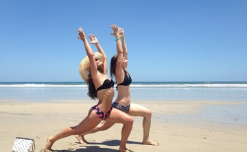 Jump to Soar Yoga Retreat with Phoebe and Julie in Nosara, Costa Rica