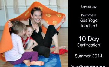 10 Day Kids Yoga Teacher Training Summer Certification