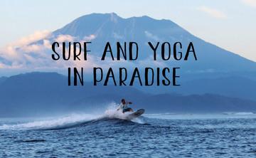 Surf Yoga Retreat in Nusa Lembongan 3 days
