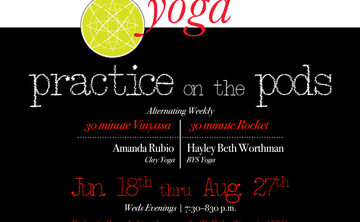 MoWa Yoga Presents: Practice on the Pods