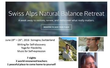 Swiss Alps Natural Balance Retreat