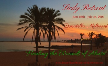 """Healing the Wounds of Abuse"" Sicily Retreat June 26th-July 1st 2016 - Women Only"