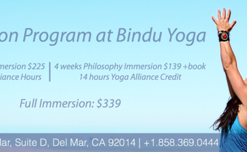 Immersion Program with Bindu Yoga Studio