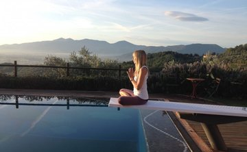 Yoga + Walking in Tuscany with Dorothy Price