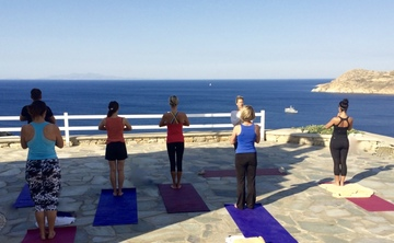 5* Luxury Yoga Retreat Mykonos Greece: 20-27 May 2017