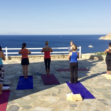5* Luxury Yoga Retreat Mykonos Greece: 20-27 May 2017