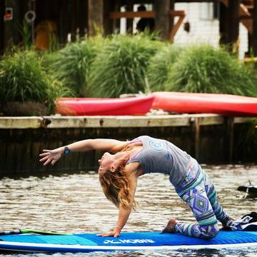 Ashley Quinn ~ Yoga & SUP Yoga Instructor