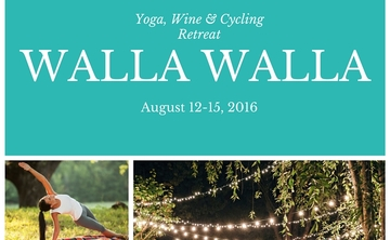Luxury Yoga and Cycling Retreat in Washington, August 2016