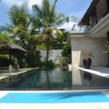 Private Villa among rice terrace of Ubud