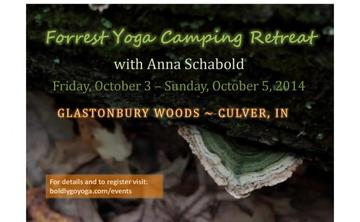 Forrest Yoga Camping Retreat