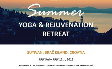 Anadi Summer Yoga and Rejuvenation Retreat, Brač, Croatia