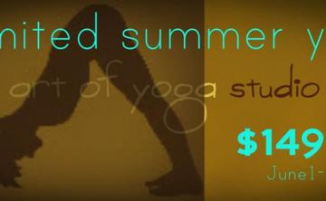 Unlimited Summer Yoga