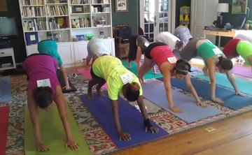 Yogathon Fundraiser for Wellness House of Annapolis