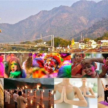 10 DAYS MEDITATION & CHANTING RETREAT WITH HOLI IN RISHIKESH, HIMALAYAS INDIA