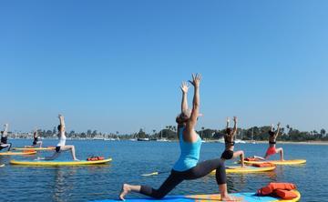 SUP Yoga Ladies retreat