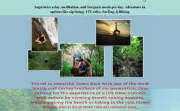 Costa Rica Yoga Retreat 2016