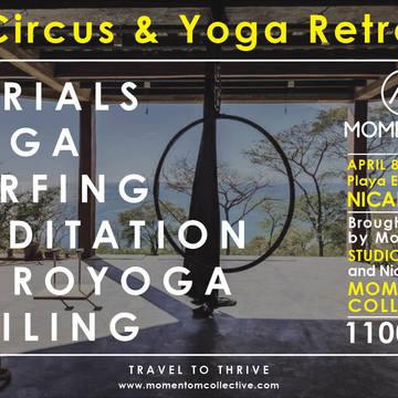 Moment-OM Yoga & Circus Retreat, Nicaragua