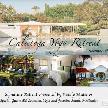 Wendy Medeiros Signature Yoga Retreat, Calistoga California