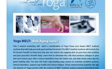 Yoga MELT Anti-Aging Sessions