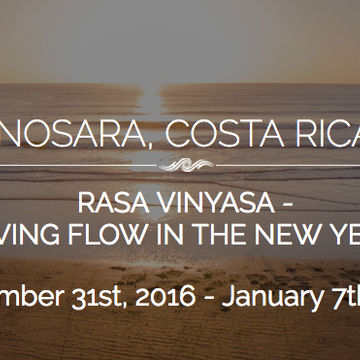 Rasa Vinyasa – Living the Flow in the New Year (week 3)