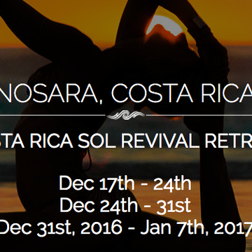 Sol Revival Retreat – FULL Three Weeks