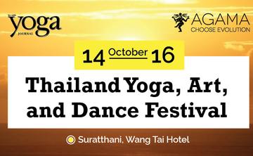 AGAMA AT THAILAND YOGA FESTIVAL 2016