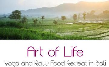 Art of Life Yoga and Raw Food Retreat in Bali