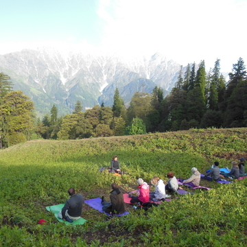 Yoga, Meditation and trekking adventure in the Himalaya