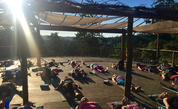 Yoga Retreat with Farm to Table Food and local Wines