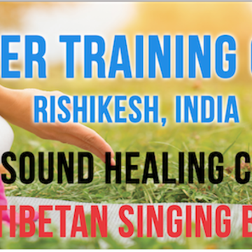 3 Days – Tibetan Singing Bowls – Sound Healing Teacher Training Course In Rishikesh, India