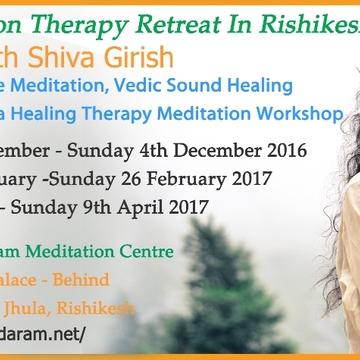 Meditation Therapy Retreat In Rishikesh, India