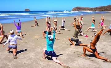 Gracious Living Yoga, Surf Vegan Adventure Retreats