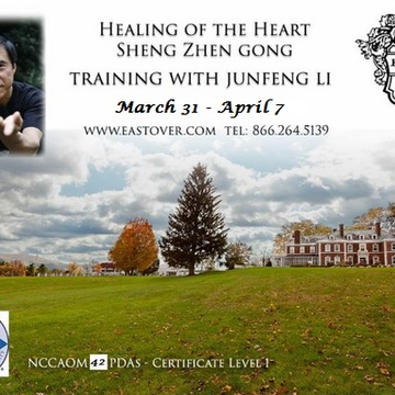 Healing of the Heart Sheng Zhen (Sacred Truth) Qigong Training with Master Junfeng Li