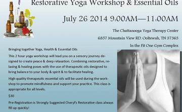 Restorative Yoga & Essential Oils