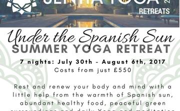 'Under the Spanish Sun' Summer Yoga Retreat