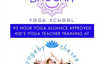 95 Hour Kid's Yoga Teacher Training at Yoga by the Sea
