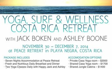 Yoga, Surf, & Wellness in Costa Rica