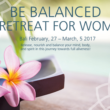 Be Balanced - Retreat for Women