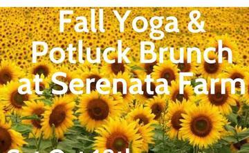 Yoga and Potluck Brunch at Serenata Farm